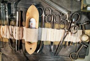 gammal medicinsk utrustning foto
