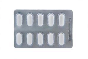 medicin blisterförpackning foto