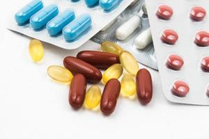 medicin läkemedel och piller foto