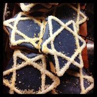 hanukkah cookies foto