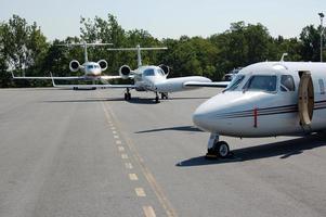 företagsflygplan foto