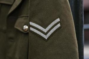 engelska wwii corporal rank foto