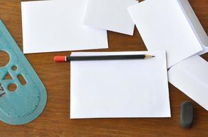 skriva ett brev foto