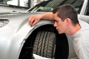 bilförsäkringsagent foto