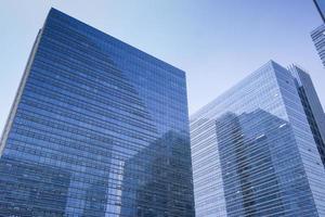 glasvägg byggnad foto