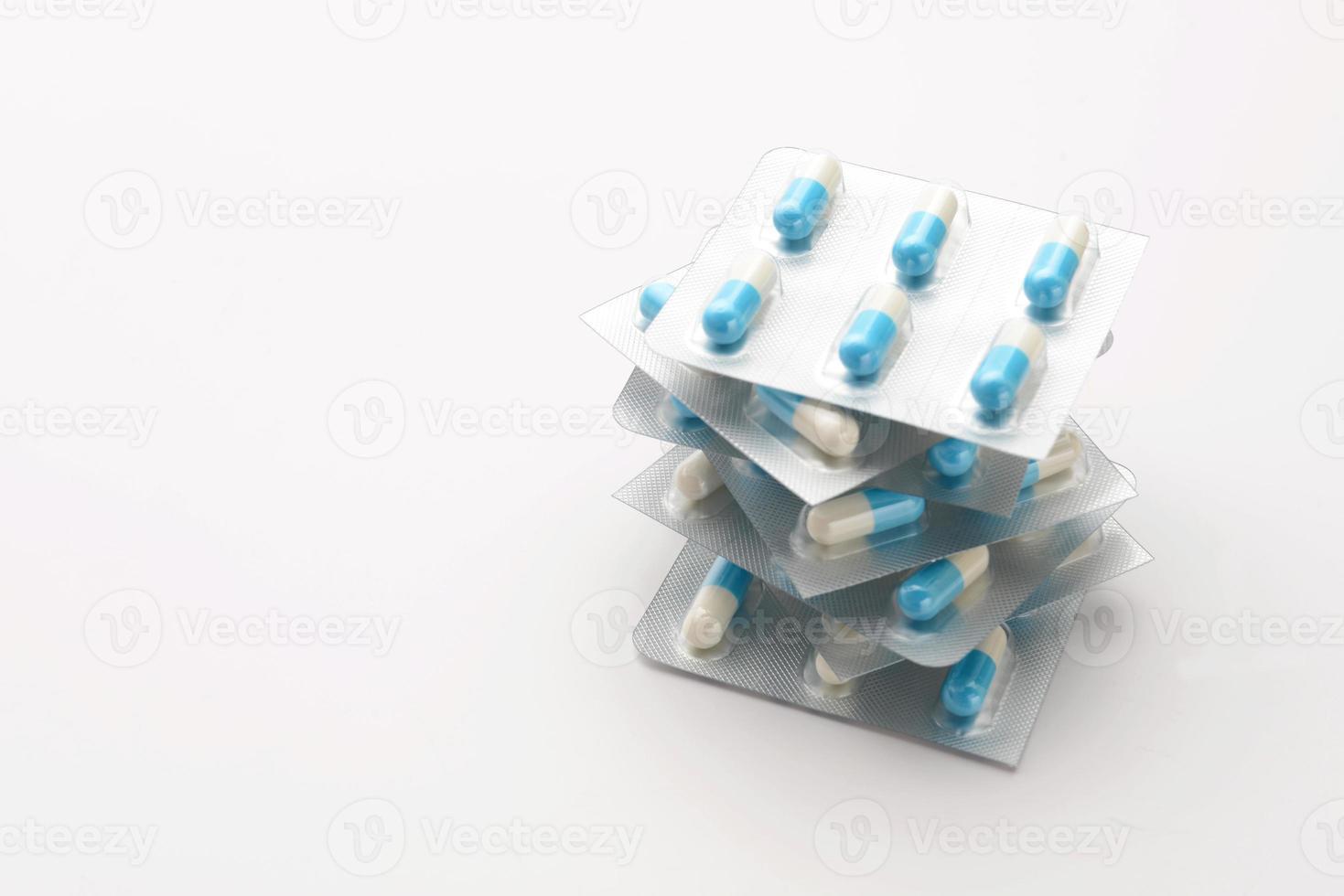 verpakte capsules foto
