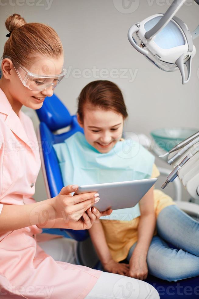 moderne tandheelkunde foto