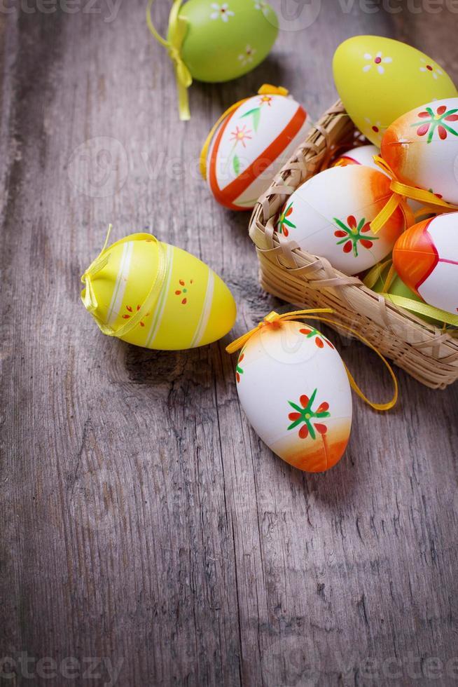 Paas eieren. foto