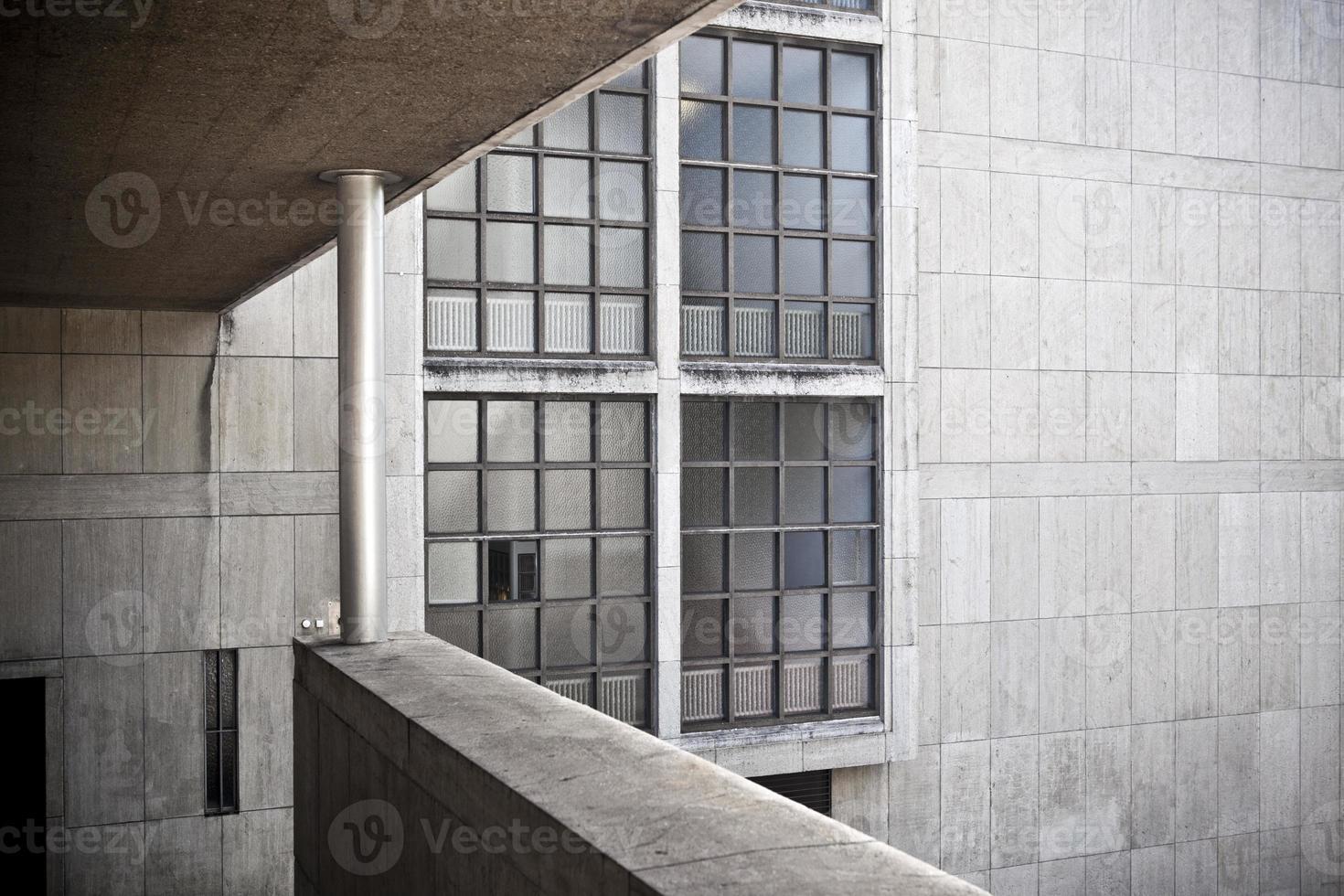 kantoorgebouw in Zürich, Zwitserland foto