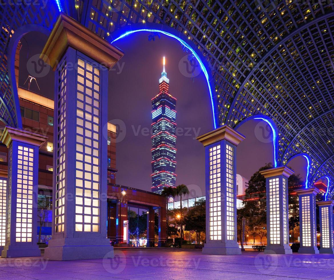 Taipei stadsgezicht foto