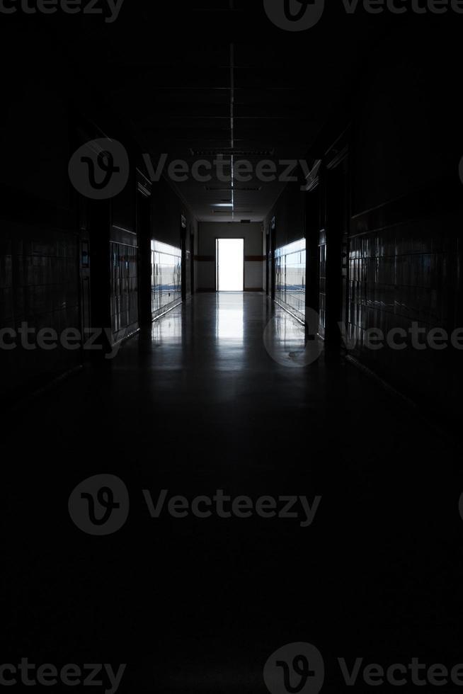 donkere gang foto