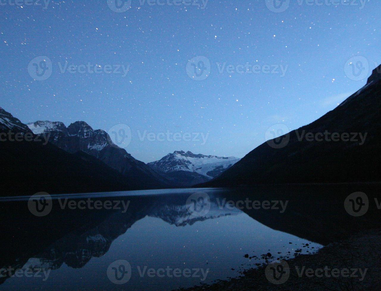 sterren weerspiegelen foto