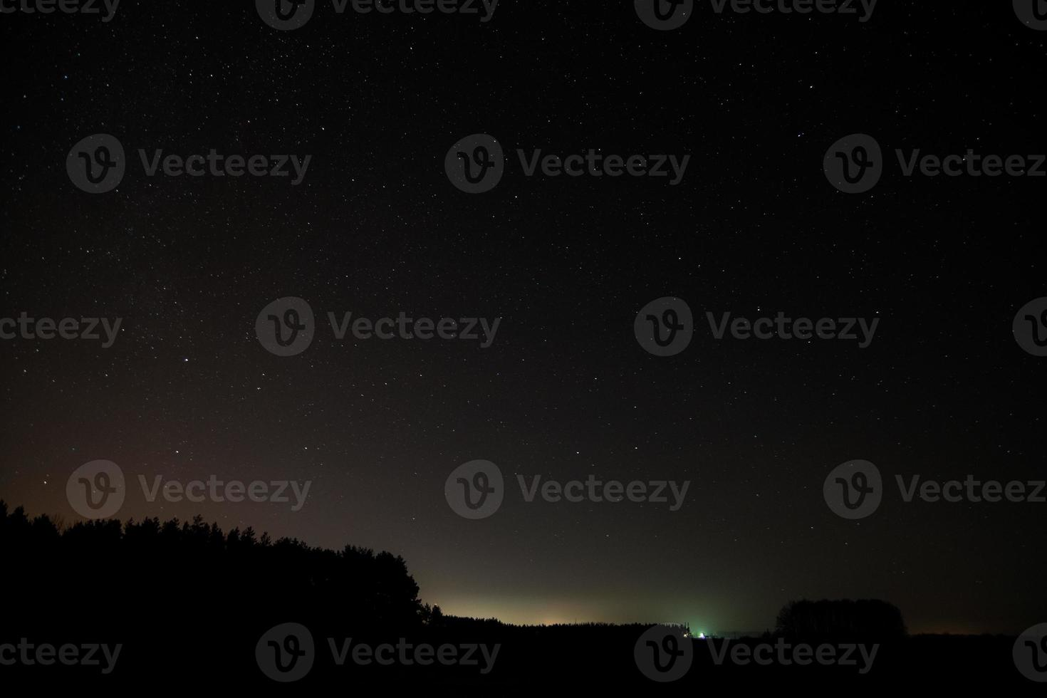sterrenhemel. foto
