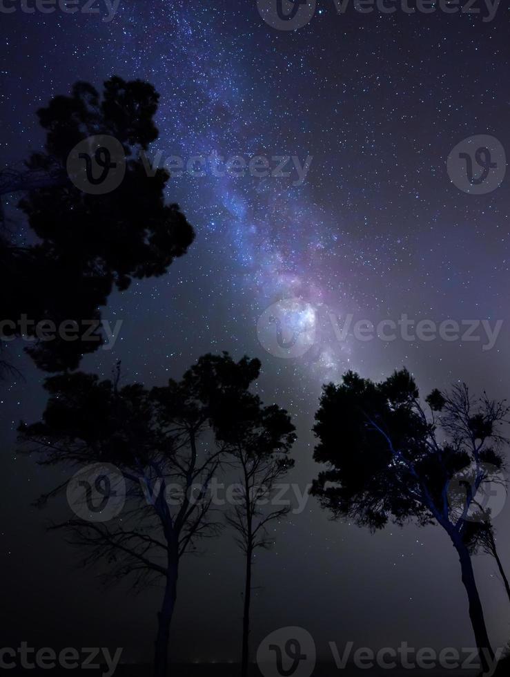 sterren, melkweg foto