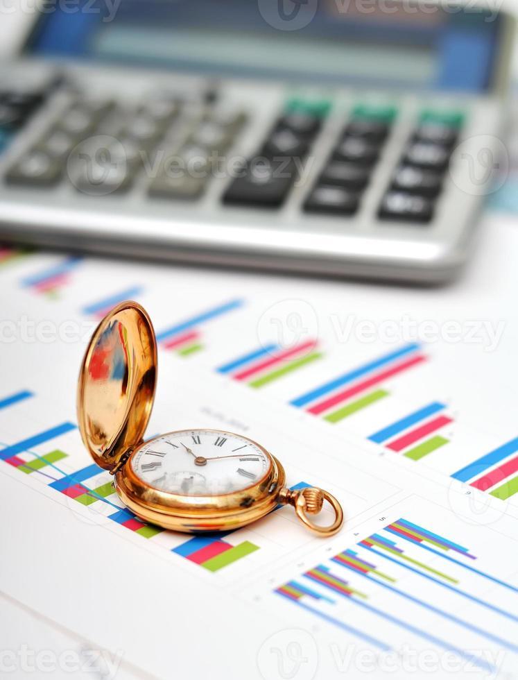 financieel rapport foto