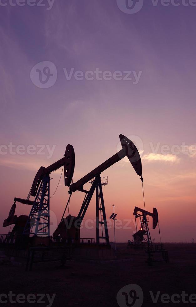 de oliepomp foto