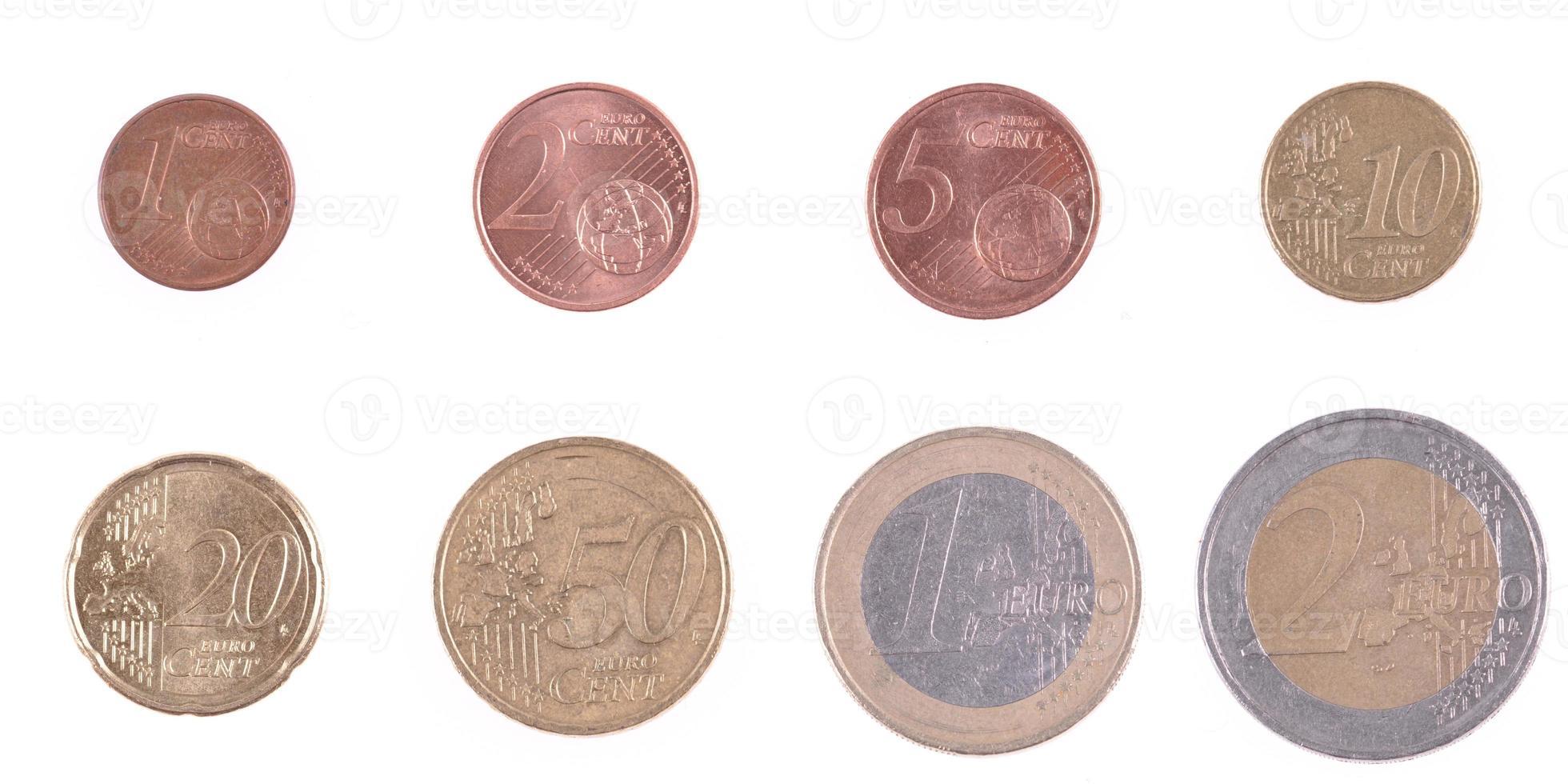 munt euro foto