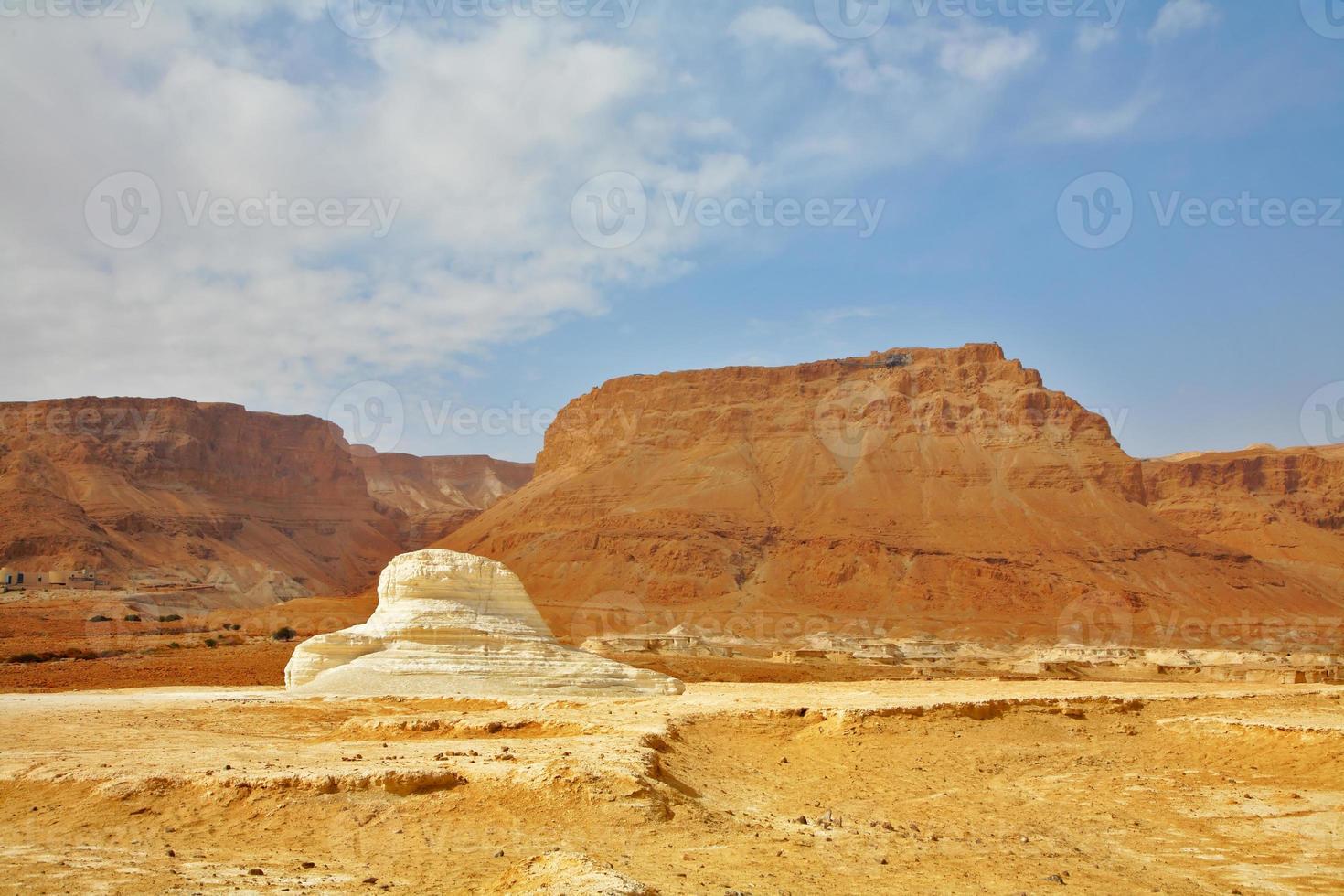 oude stenen woestijn foto