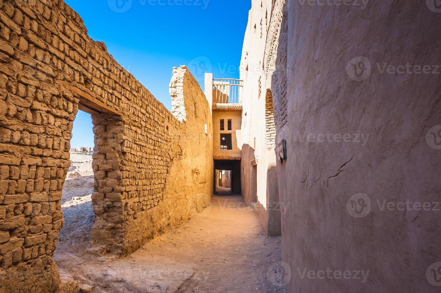 Dakhla-woestijn, Egypte foto