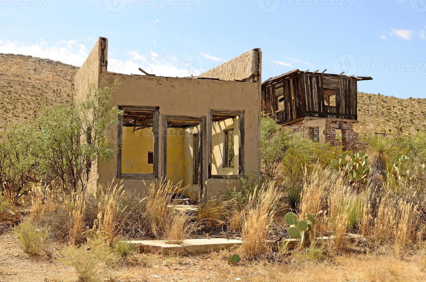 woestijn huis foto
