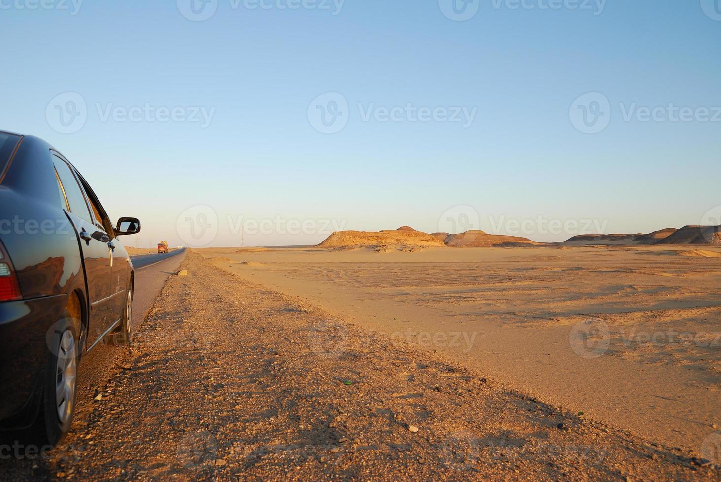 woestijn rijden foto
