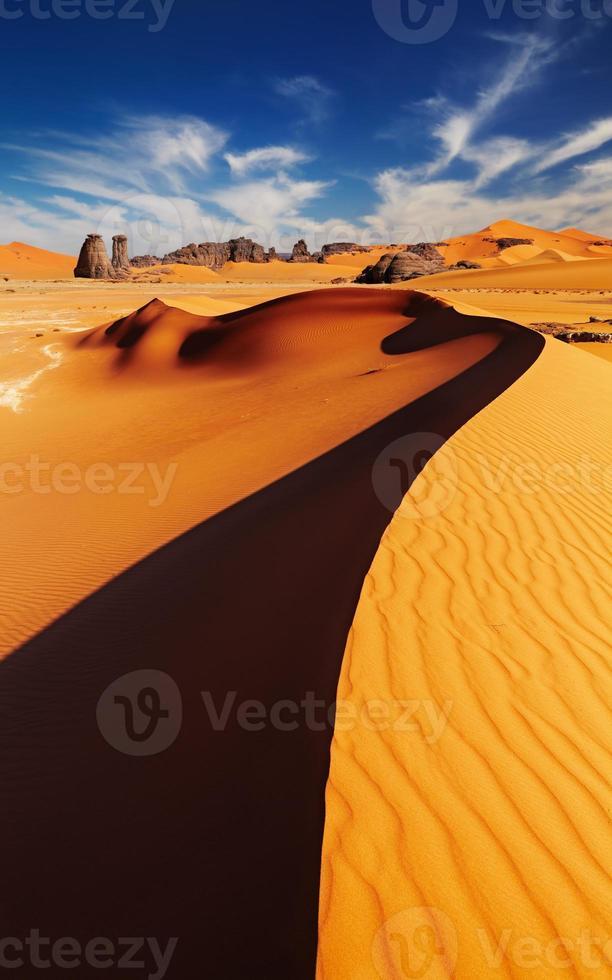 Saharawoestijn, Algerije foto