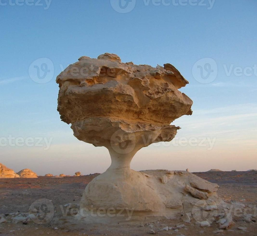 witte woestijnformaties foto