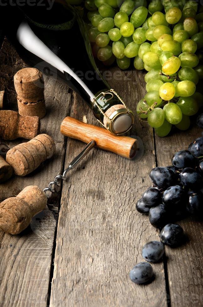 wijn stilleven foto