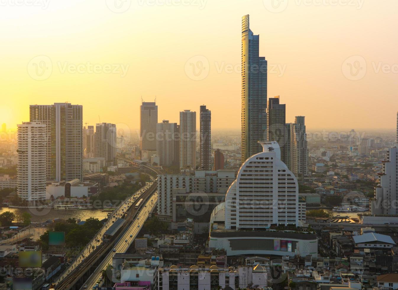 stadsleven foto