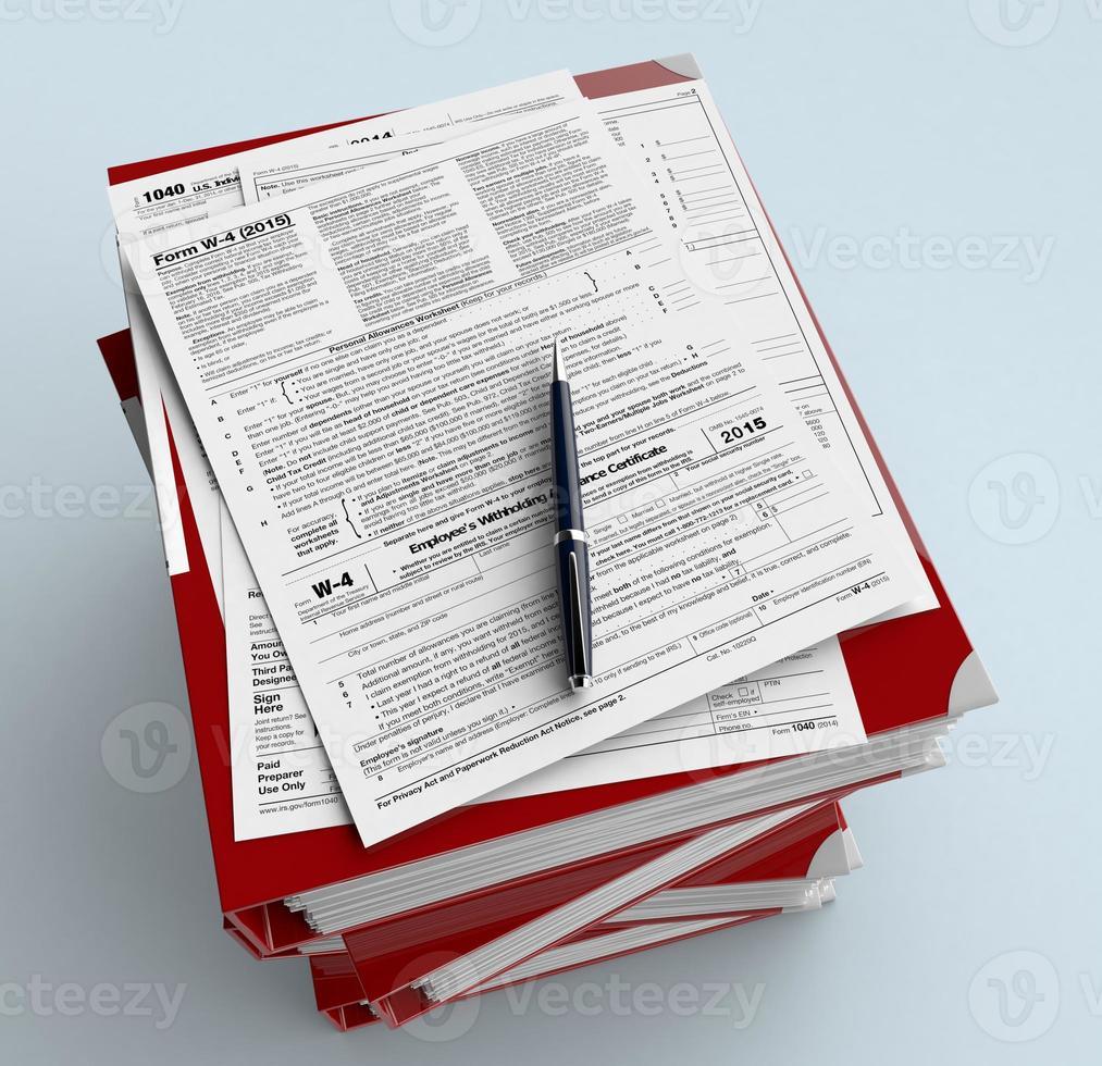 Amerikaanse belastingen foto