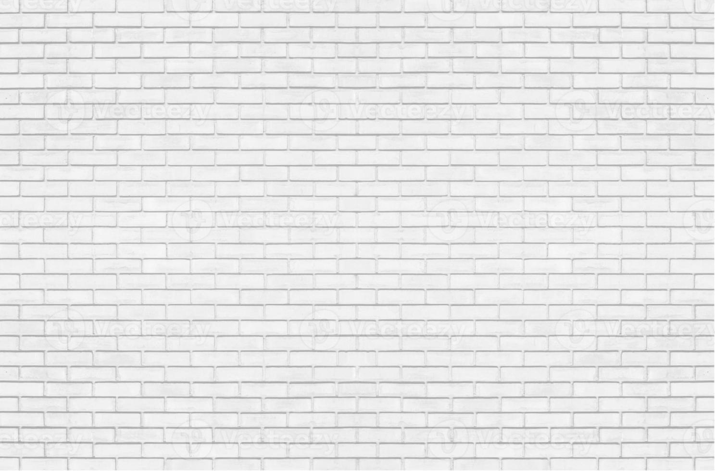 witte bakstenen muur voor achtergrond foto