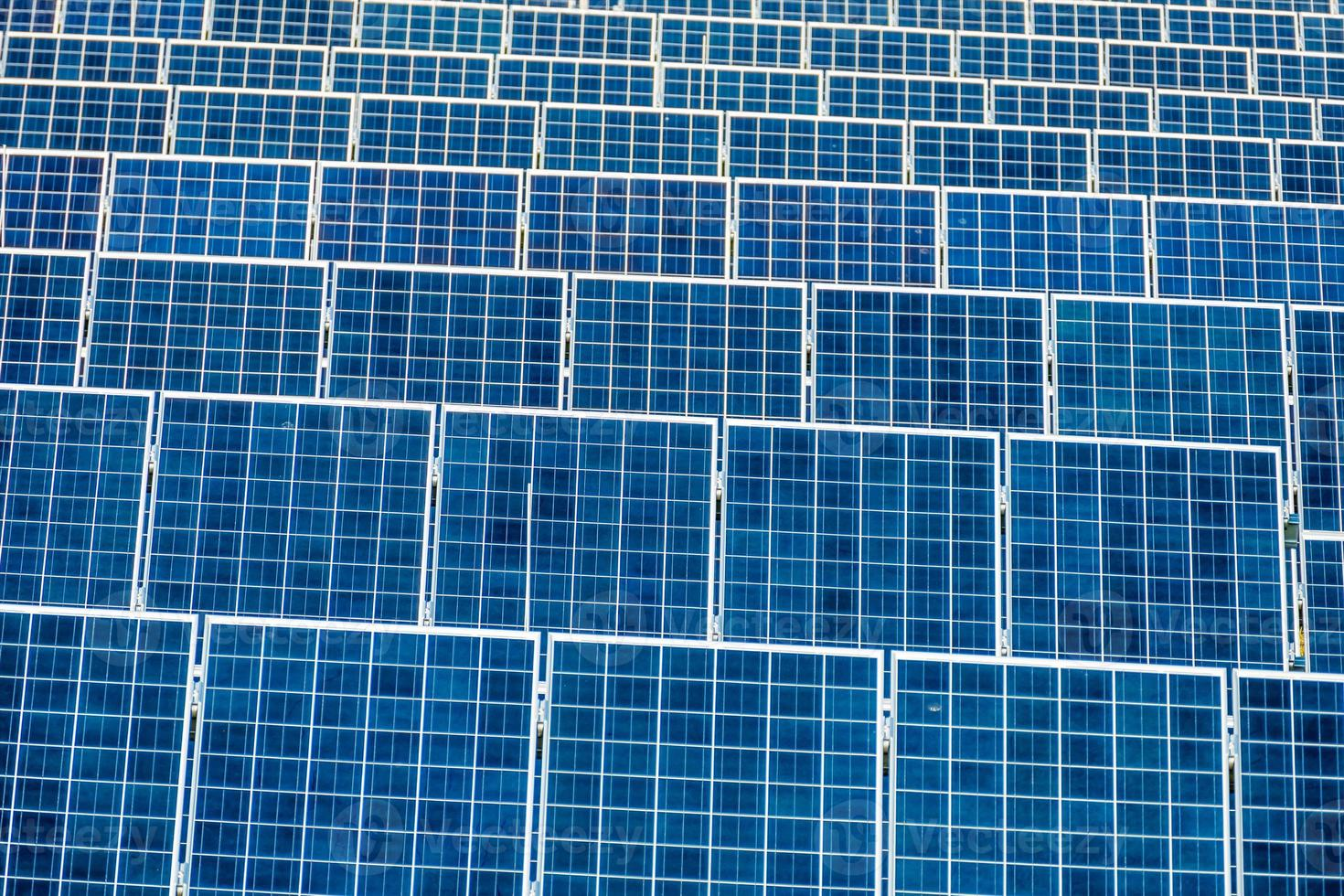 Zonne-energiecentrale foto
