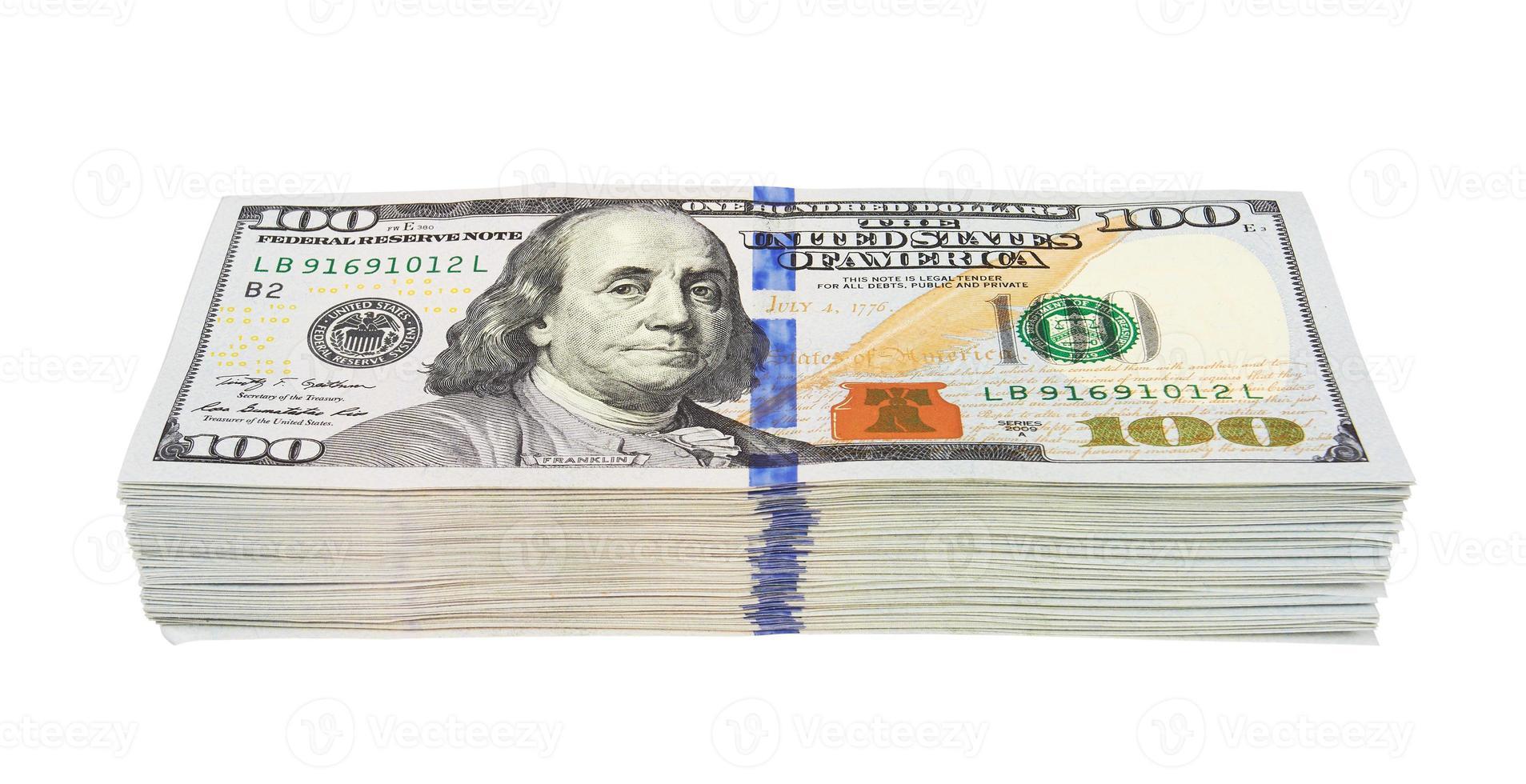 stapel dollars foto