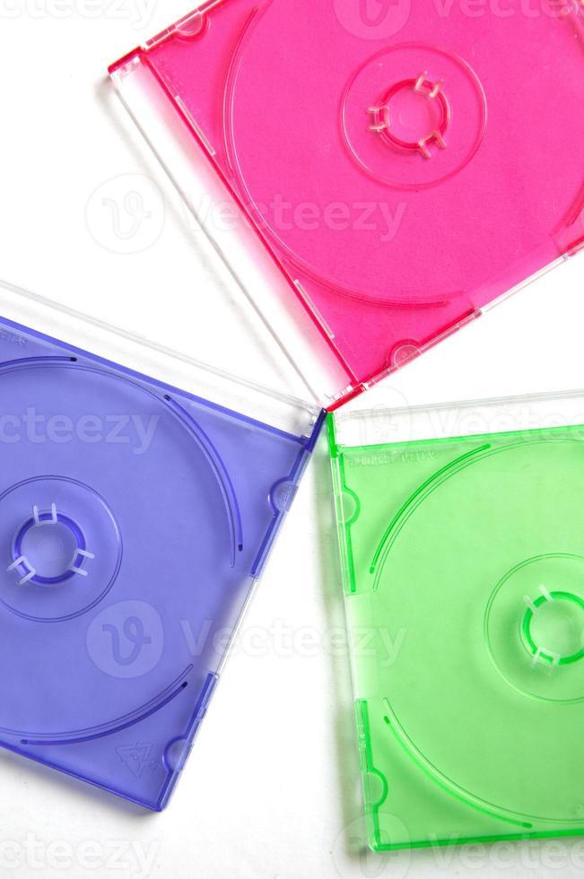 schijven met meerdere kleuren foto