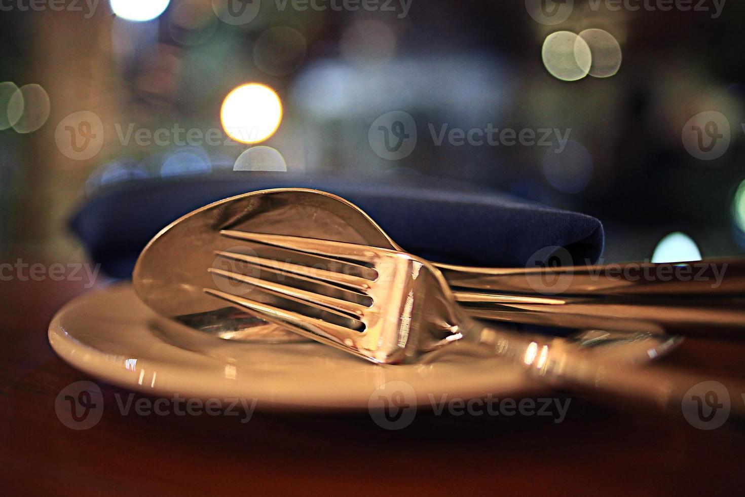 eten in het restaurant, tafel, achtergrond foto