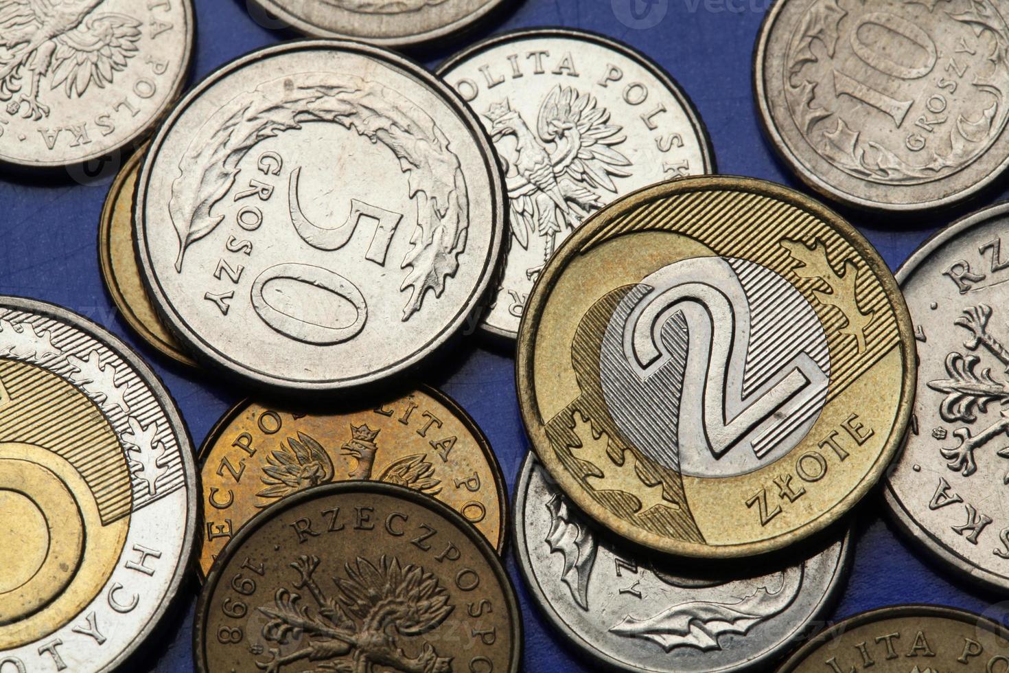 munten van Polen foto