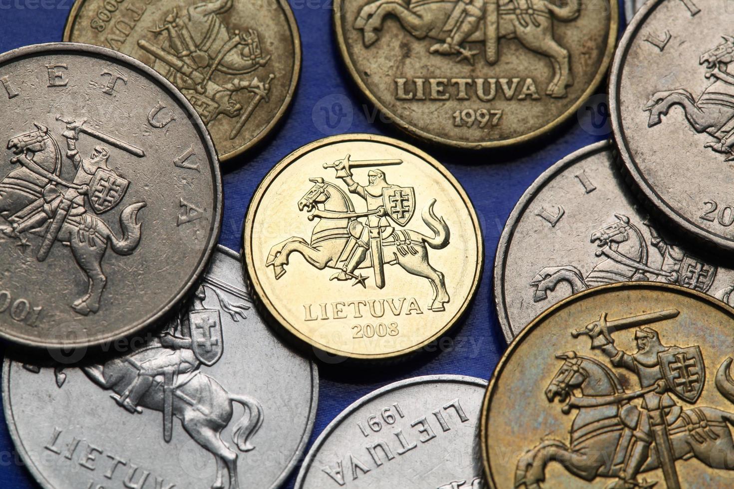 munten van Litouwen foto