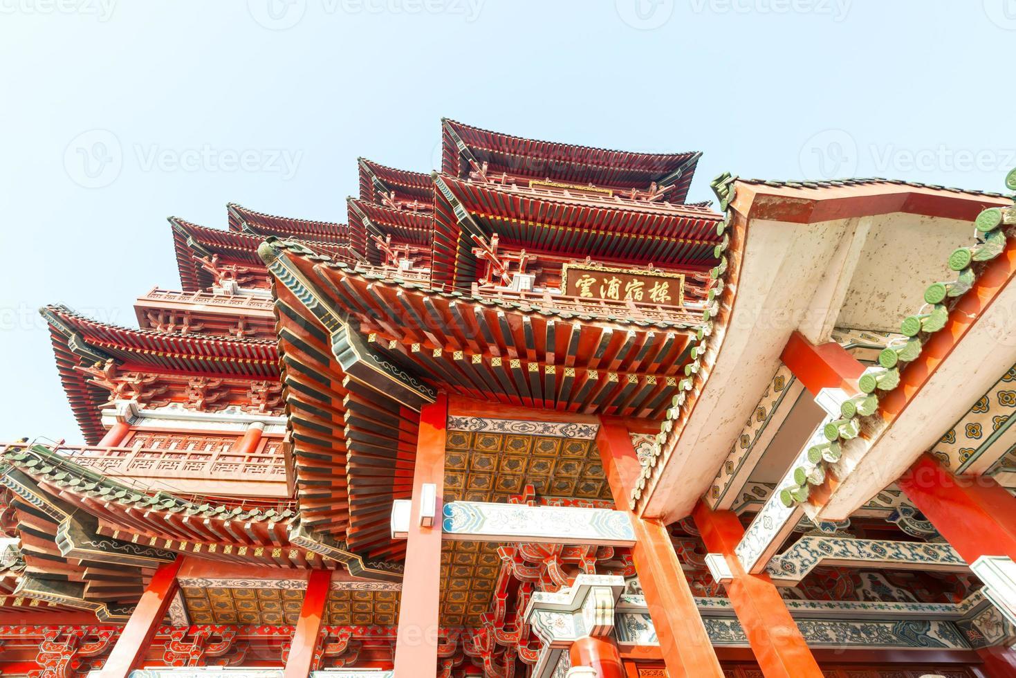 tengwang pavilion, nanchang, t raditional, oud chinees archite foto