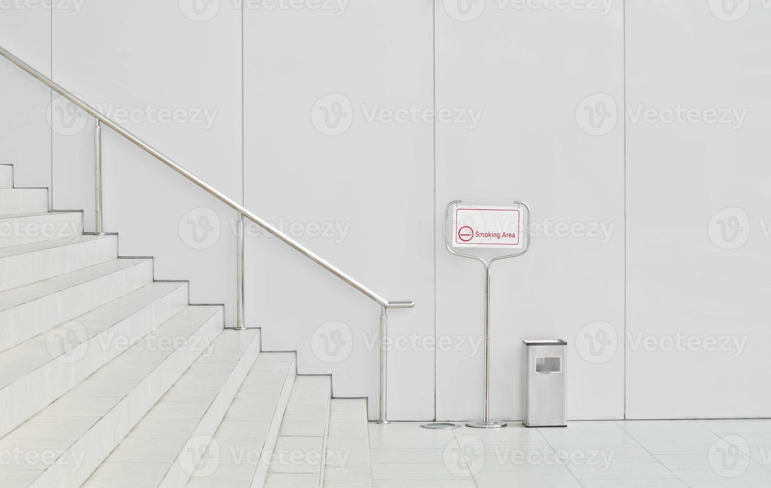 aangewezen rookruimte teken foto