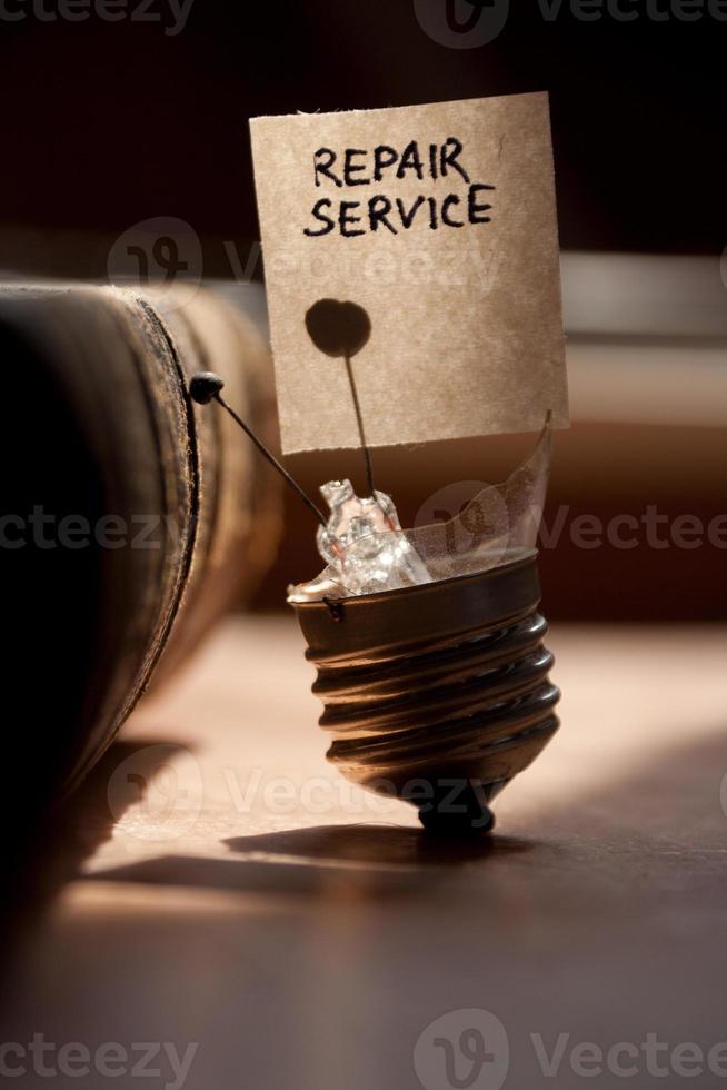 reparatie service foto