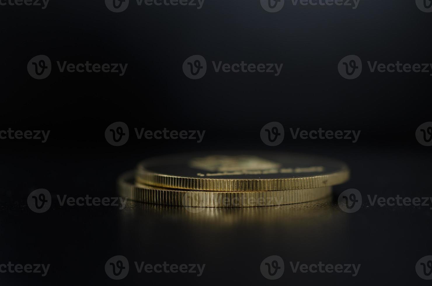 gouden munten foto