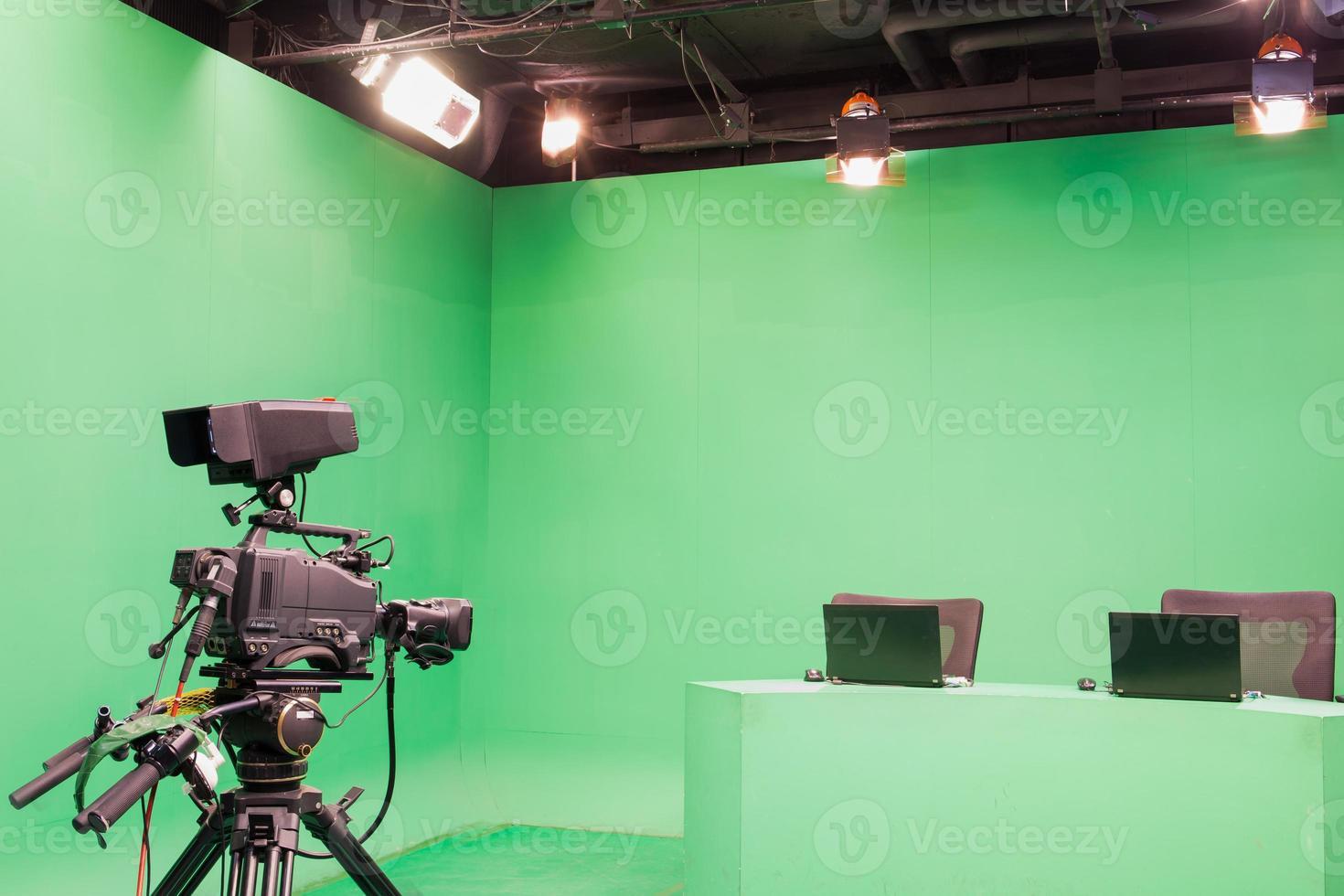 televisiestudio foto