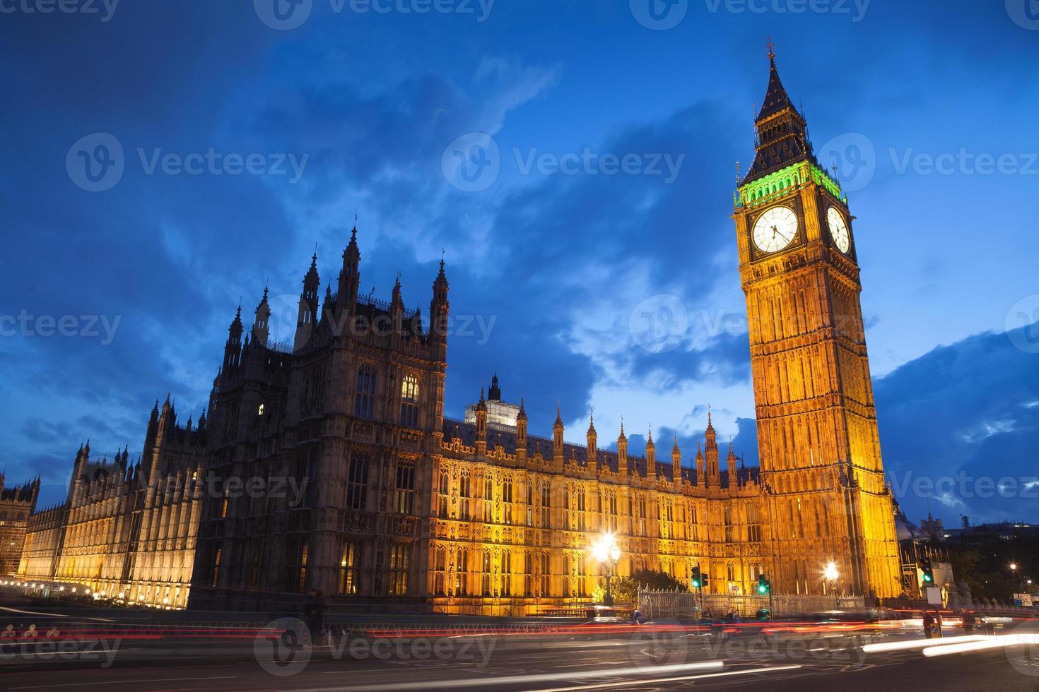 Palace of Westminster Big Ben, Londen, Engeland, Verenigd Koninkrijk foto