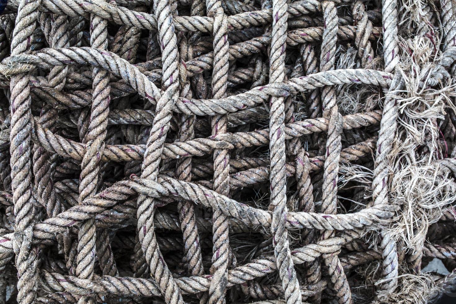 touwen aanpakken foto