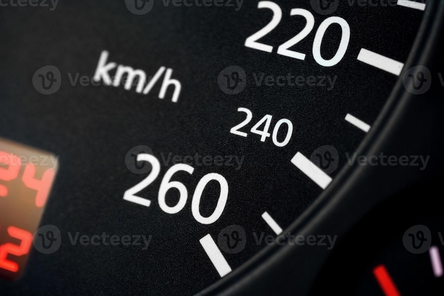 snelheidsmeter foto