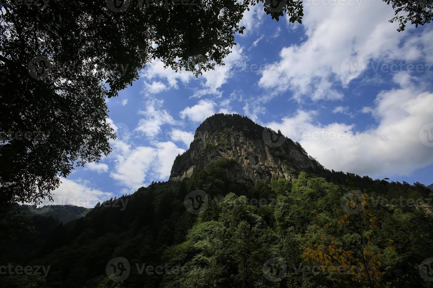sumela klooster foto