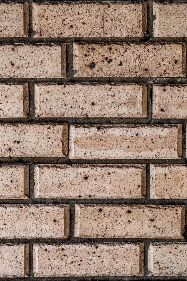 grunge rode bakstenen muurachtergrond foto