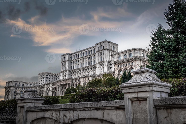 'Volkshuis', de thuisbasis van het Roemeense parlement foto