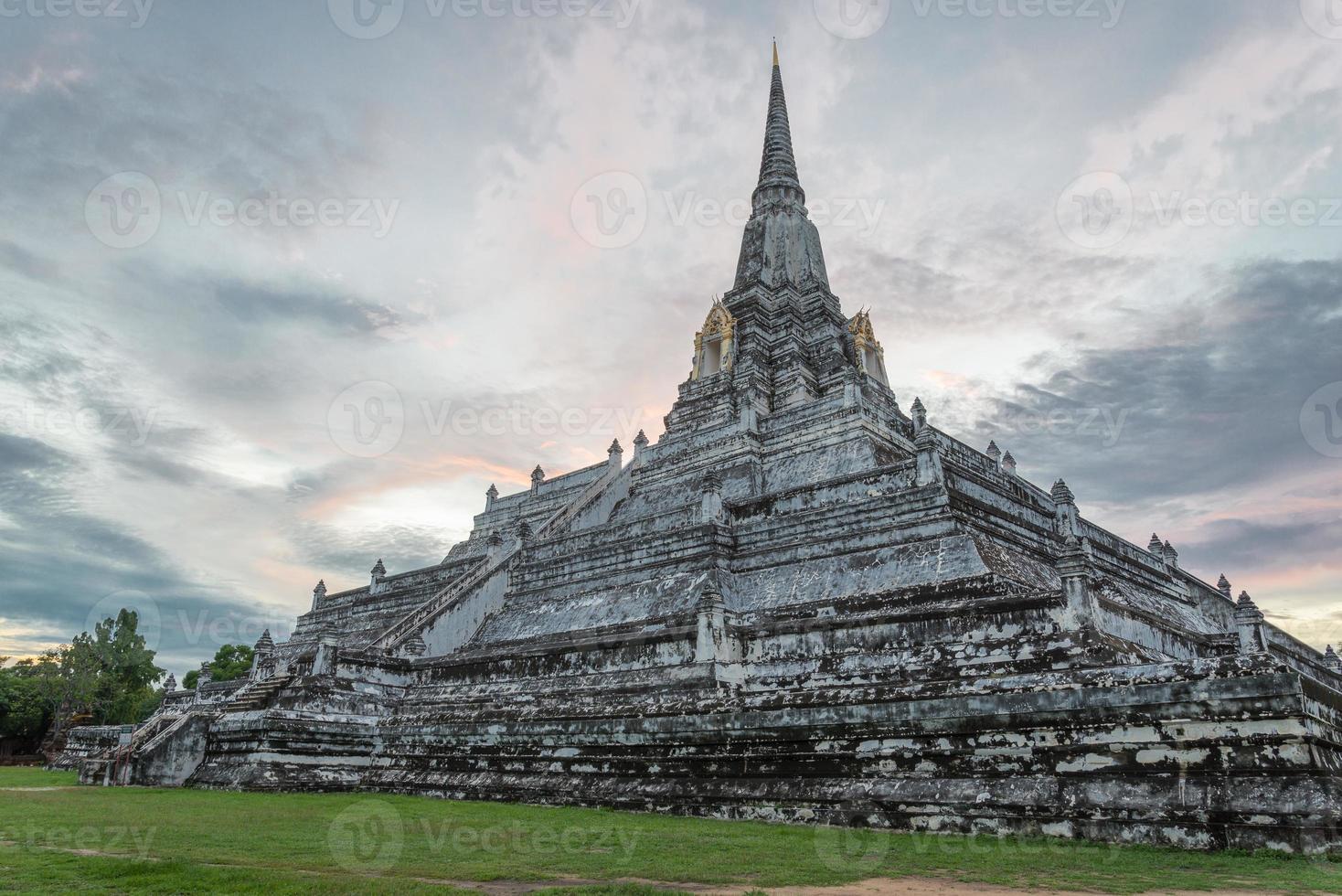 oude Boeddha pagode foto