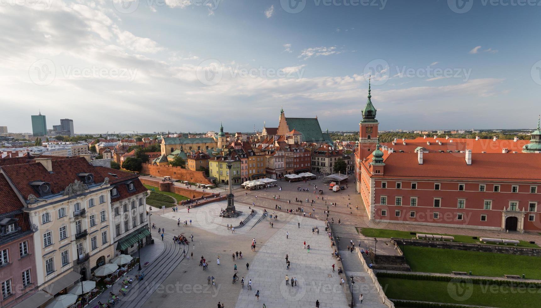 Warschau in Polen foto